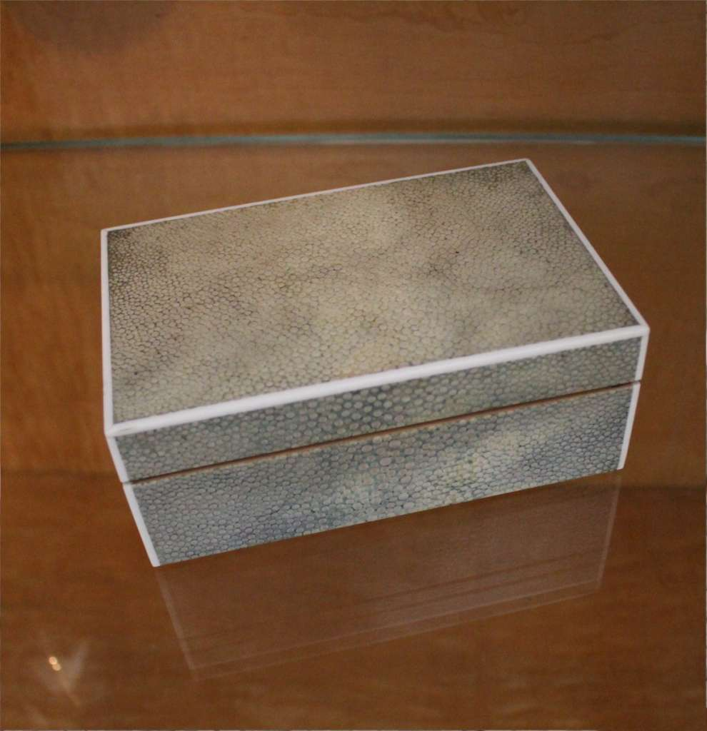 Art Deco shagreen box by JC Vickery