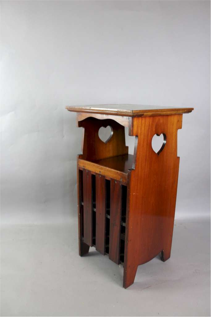 Shapland and Petter arts and crafts bedside cabinet