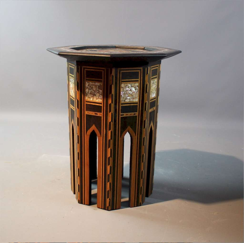 Small Moorish Liberty & Co table
