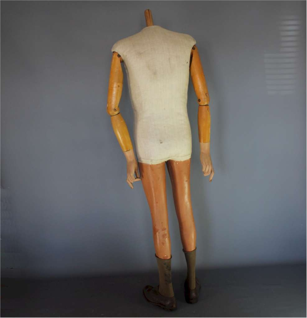Shop display articulated mannequin c1950