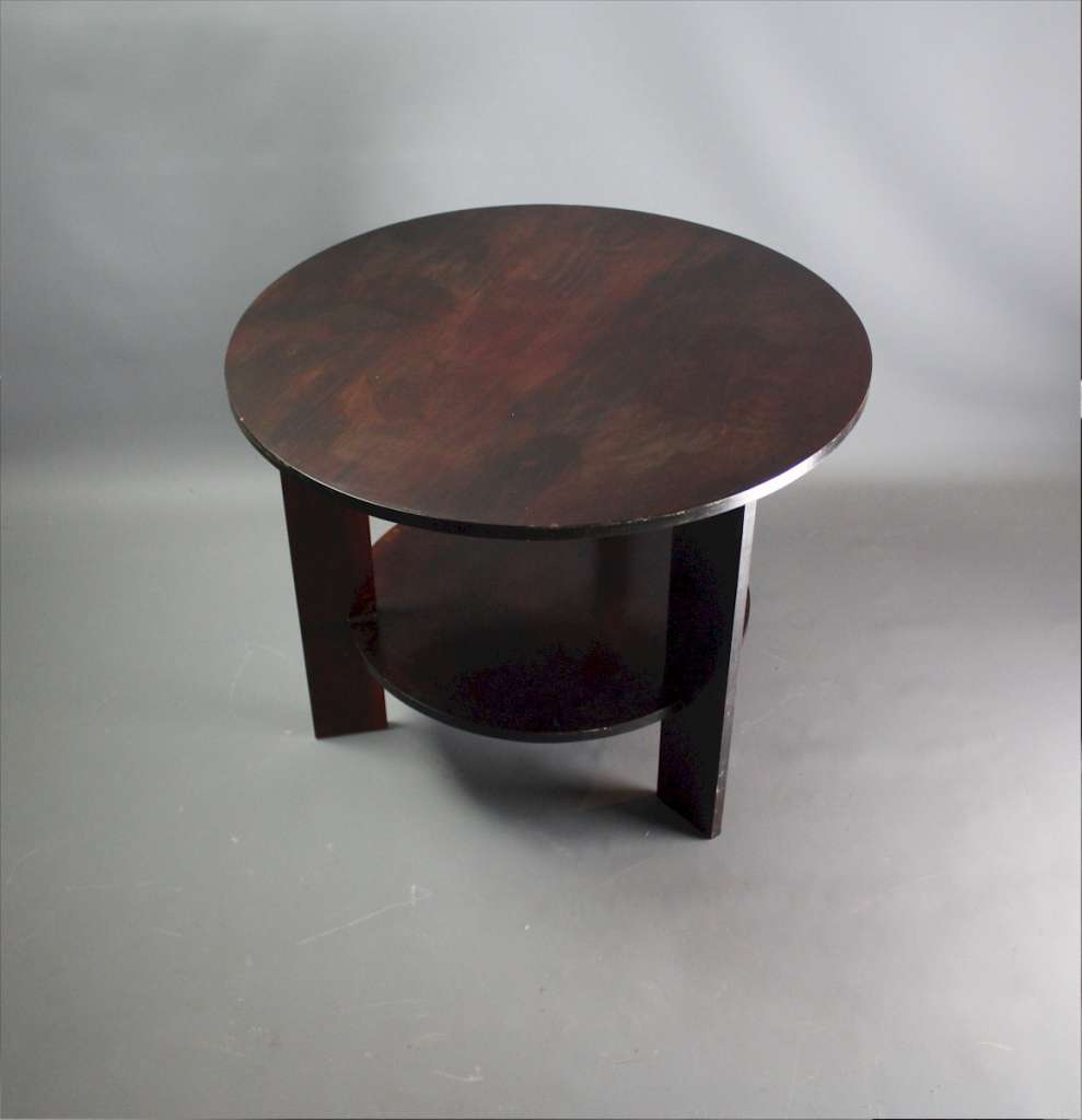 Modernist art deco bakelite type table