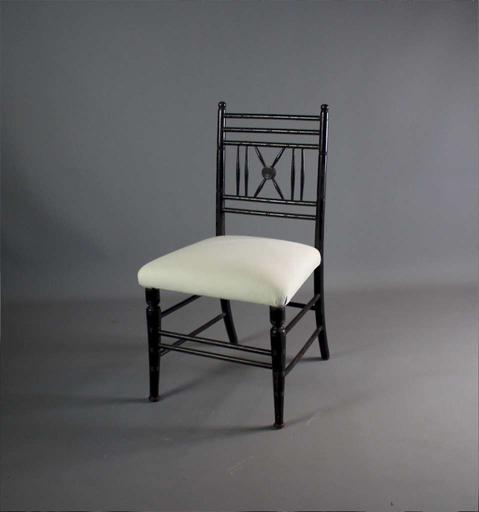 Victorian Morris Sussex type childrens chair