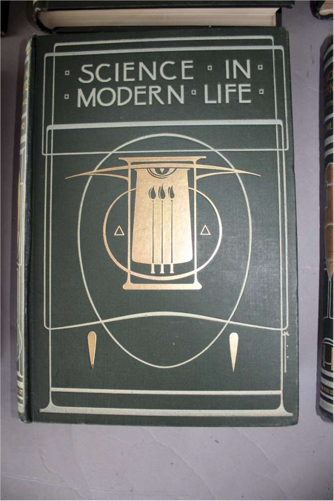 Talwin Morris , Science in Modern Life set of six