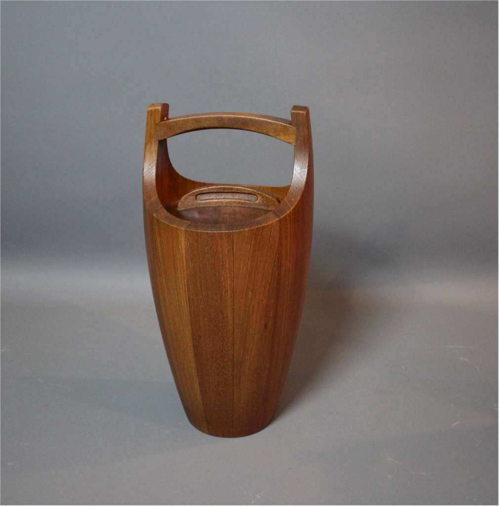 Teak Ice Bucket By Jens Quistrgaard For Dansk Denmark