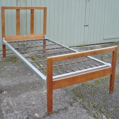 Heals bed in oak from the Country Cottage Range