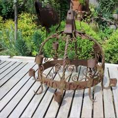 Antique iron Dutch Game Crown