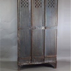 French Industrial metal locker by Strator of Strasbourg