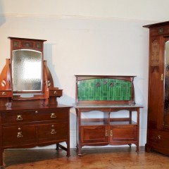 Shapland and Petter three piece bedroom suite