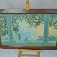 1920's/1930's Maxfield Parrish print in original frame