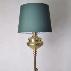 Pretty American Aesthetic brass standard lamp