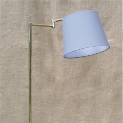 Swing Arm Reading Light In Brass