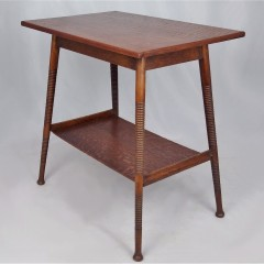 Liberty & Co side table in quarter sawn oak