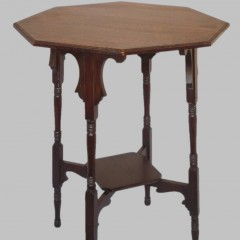Liberty & Co Moorish table in quartersawn oak