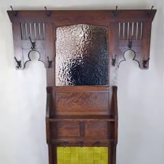 Arts and crafts hallstand by Liberty & Co