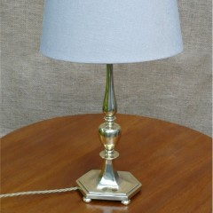 Quality table lamp in brass