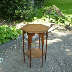 Liberty & Co Moorish side table in oak
