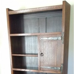 Liberty & Co bookcase / bureau in oak