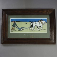 Cecil Aldin for Lawrence & Jellicoe The Ploughman