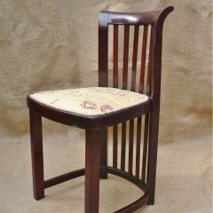 Vienna Secessionist bentwood chair by Thonet