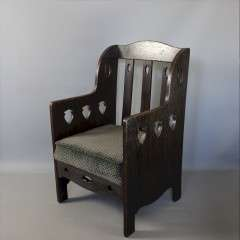 Arts and Crafts armchair by Goodyers