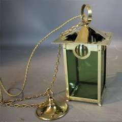 Brass Arts and Crafts lantern