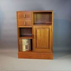 Cotswold School arts and crafts cabinet.