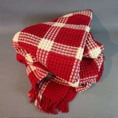 Welsh blanket.