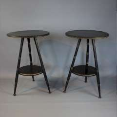 Pair of aesthetic movement tables