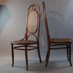 No 17 bentwood chairs by Michael Thonet