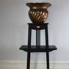 Liberty & Co arts and crafts fumed oak planter c1900