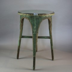 Original Lloyd Loom occasional table