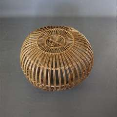 Franco Albini wicker lobster stool .