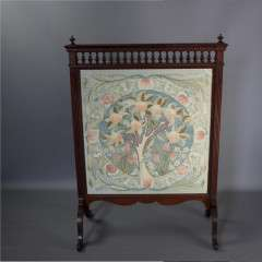 Arts and crafts William Morris apple tree firescreen.
