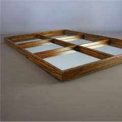 Mid Century sectional mirror by Rowley Galllery