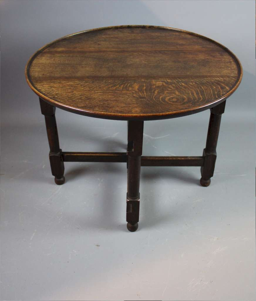 Rare Tilden folding table Heal and Son.