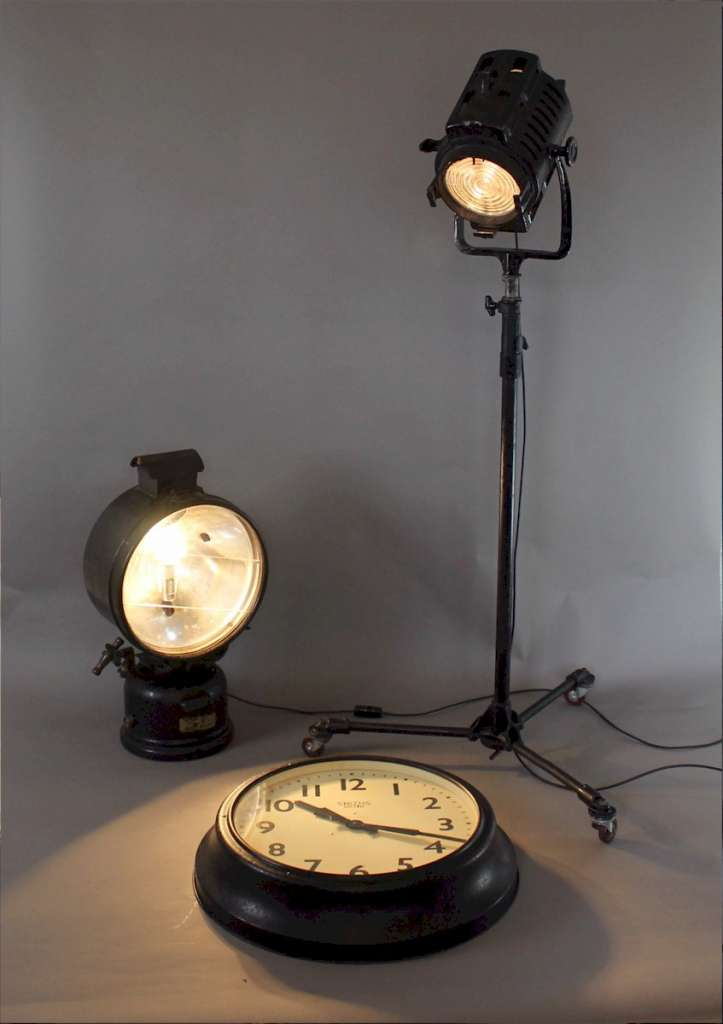 RAF Industrial airstrip floodlight by Tilley Hendon