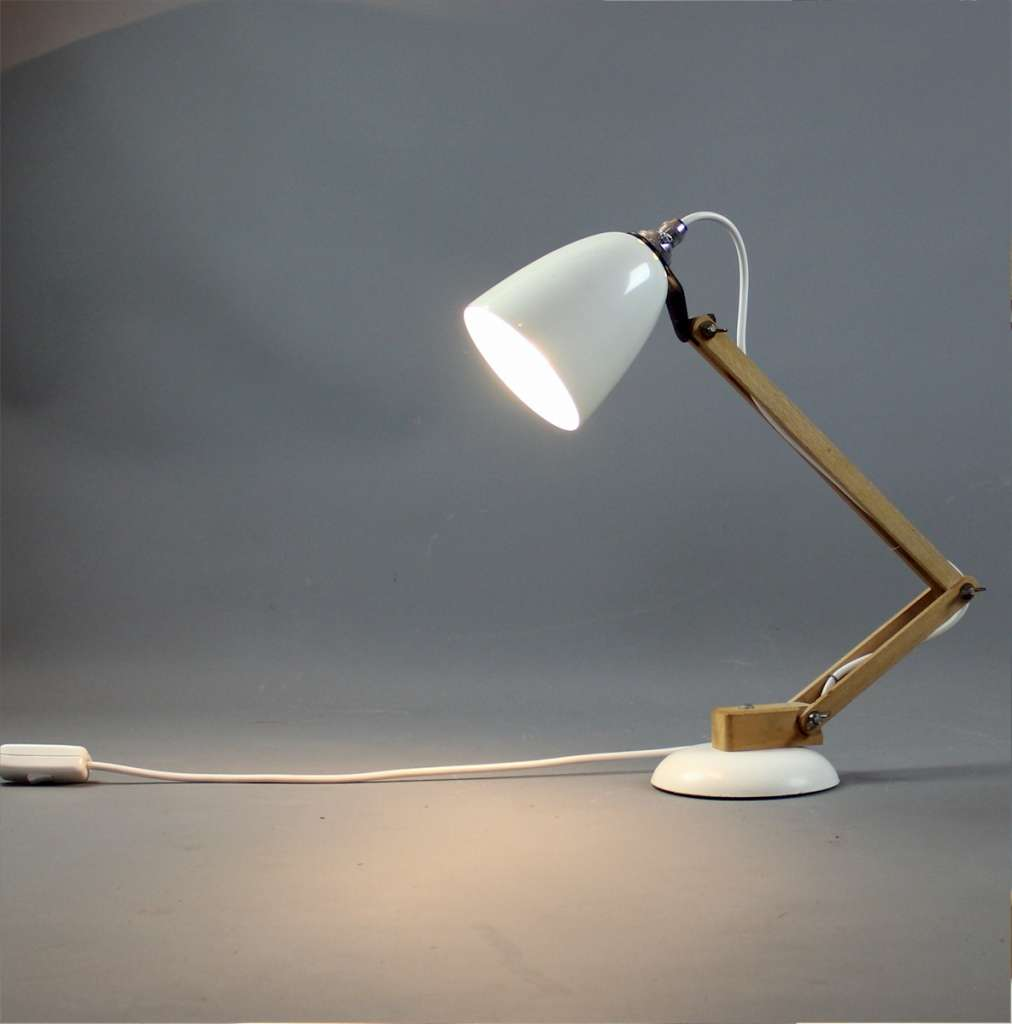 White Maclamp classic Conran design from the 1970's